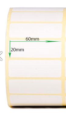 کاغذ پشت چسب دار سایز ۶۰ × ۲۰