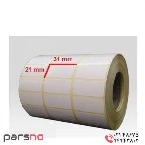 برچسب کاغذی سایز ۳۱ × ۲۱