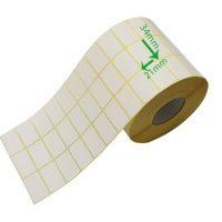 بر چسب کاغذی سایز ۳۴ × ۲۱