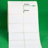 لیبل کاغذی سایز ۴۵ × ۳۰