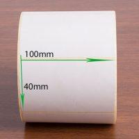 لیبل کاغذی سایز ۱۰۰ × ۴۰