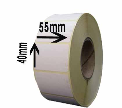 لیبل کاغذی سایز ۵۵ × ۴۰