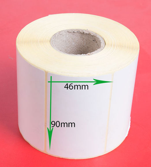 لیبل کاغذی سایز ۹۰ × ۴۶