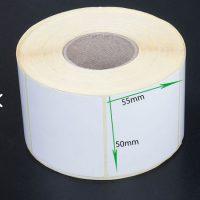 لیبل کاغذی سایز ۵۰ × ۵۵