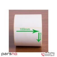 برچسب کاغذی سایز ۱۰۰ × ۸۰