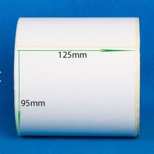 لیبل کاغذی سایز ۱۲۵ × ۹۵