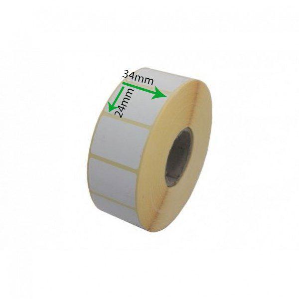 برچسب کاغذی کم چسب سایز ۲۴ × ۳۴
