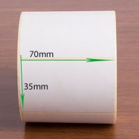 لیبل پی وی سی سایز ۷۰ × ۳۵ pvc