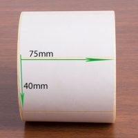 لیبل پی وی سی ضد آب ۷۵ × ۴۰