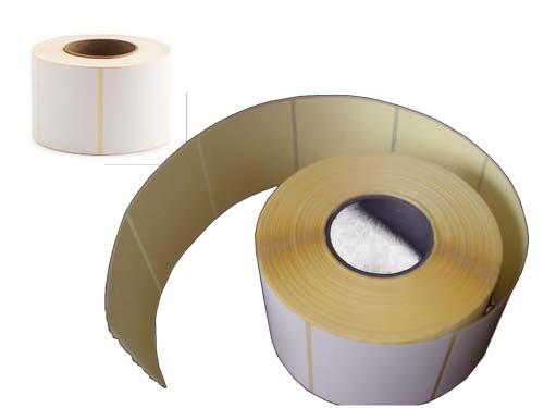 رول لیبل کاغذی 50 × 80