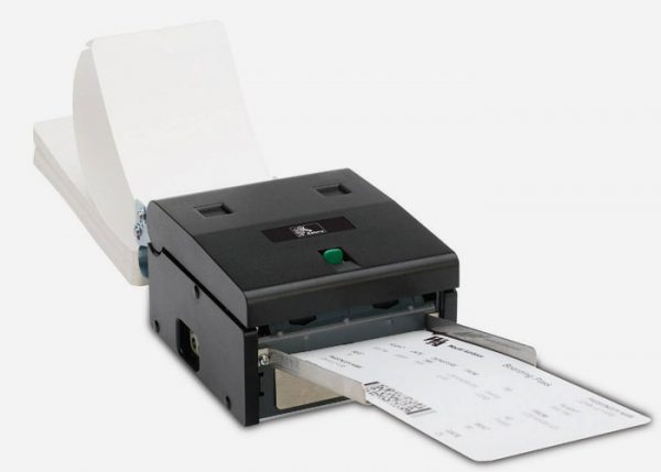 عکس پرینتر حرارتی چاپ بلیط Zebra مدل TTP 2130