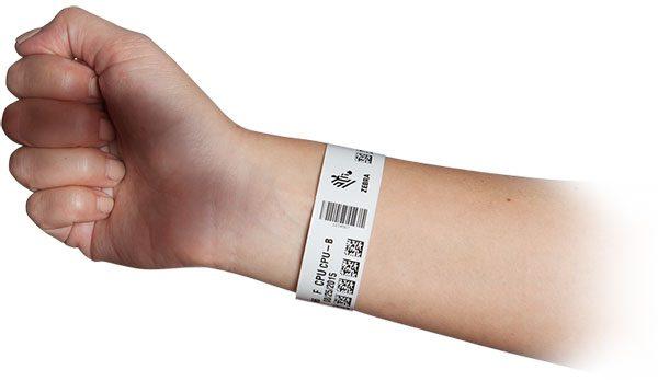 دستبند بیمارستانی بزرگسال