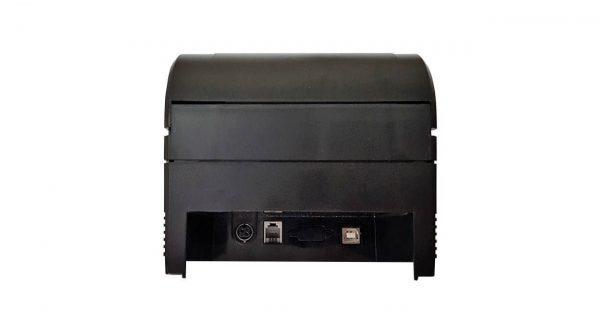 عکس فیش پرینتر اس ان بی سی مدل BTP-U60 USB از نمای پشت