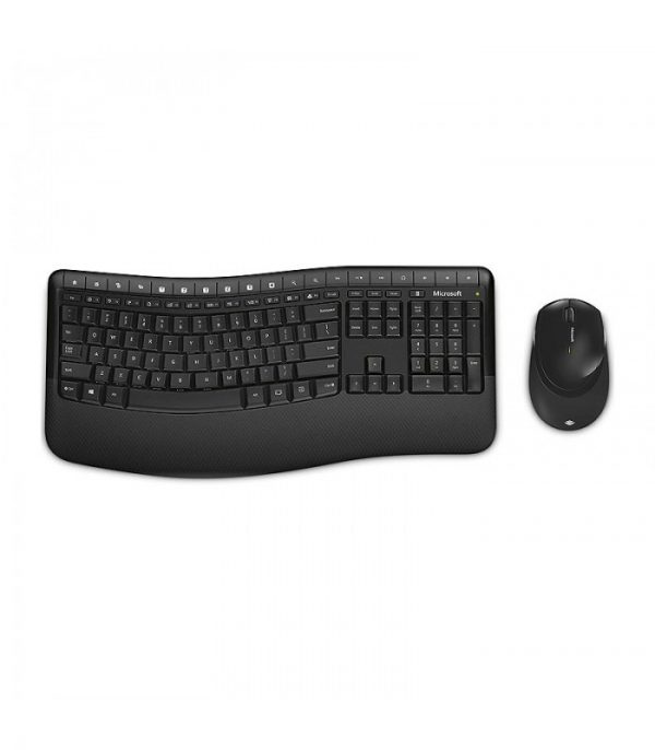 کیبورد و موس بی سیم مایکروسافت مدل Comfort Desktop 5050