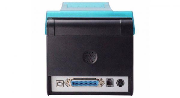 عکس پرینتر حرارتی فیش زن ایکس پرینتر مدل C260H از نمای پشت
