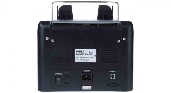 عکس پول شمار رومیزی مگا3 مدل DM-500 از نمای پشت