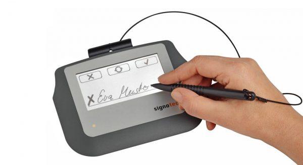 عکس پد امضا دیجیتال سیگنوتک مدل Sigma 105