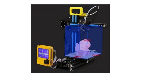 عکس پرینتر سه بعدی کریلیتی تری دی مدل CR7 mini-D