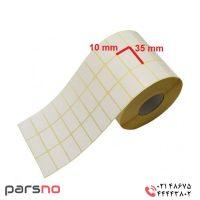 لیبل کاغذی ۱۰ × ۳۵