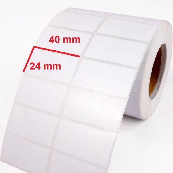 برچسب کاغذی 24 × 40