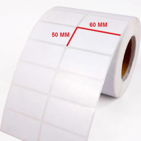 لیبل پی وی سی ۵۰ × ۶۰