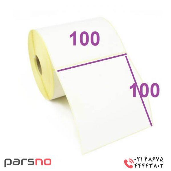 لیبل صدفی ۱۰۰ × ۱۰۰