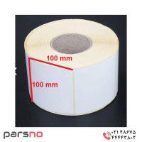 برچسب کاغذی ۱۰۰ × ۱۰۰
