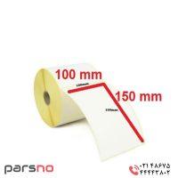 برچسب کاغذی ۱۰۰ × ۱۵۰