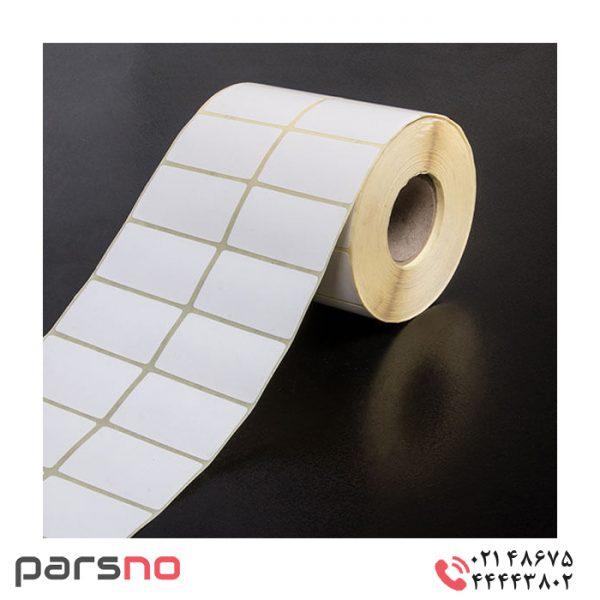 لیبل کاغذی 30 × 50