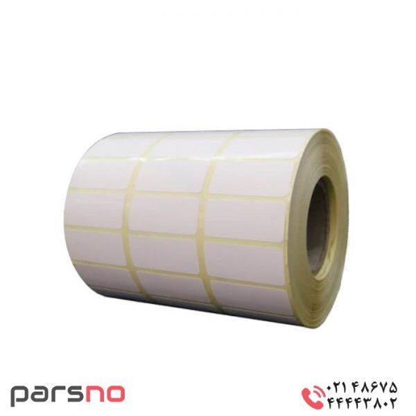 لیبل کاغذی ۱۵ × ۳۴