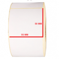 برچسب کاغذی 50 × 55