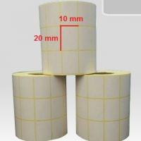 لیبل کاغذی سایز 10 × 20