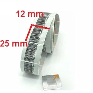 لیبل لایه شونده 12 × 25