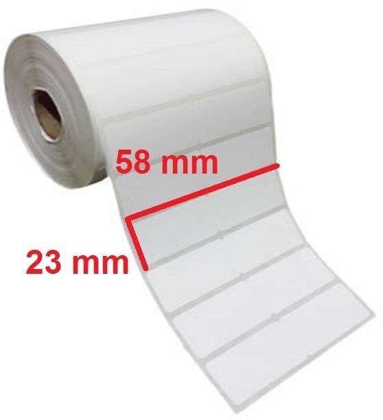 برچسب کاغذی 23 × 58