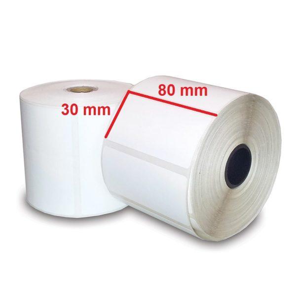لیبل PVC سایز 30 × 80