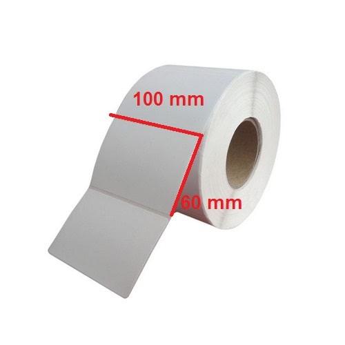 لیبل پلاستیکی ۱۰۰ × ۶۰