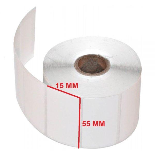 لیبل پلاستیکی 15 × 55