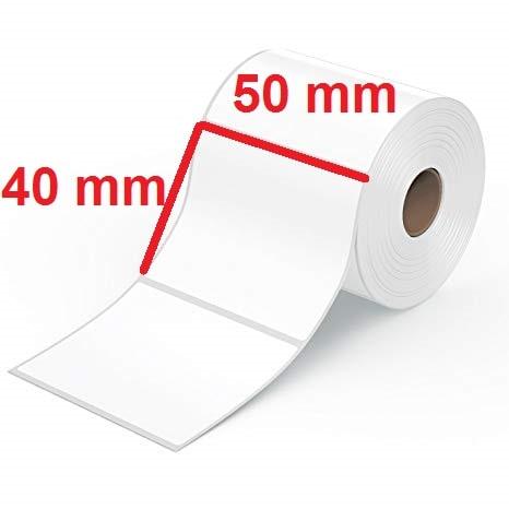 برچسب حرارتی سایز 40 × 50