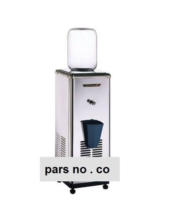 آبسردکن استیل تک شیر منبع دار زاگرس ۱۰ گالن ZWD-10GT
