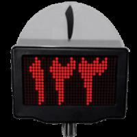نمایشگر باجه و صدا دستگاه نوبت دهی DS201