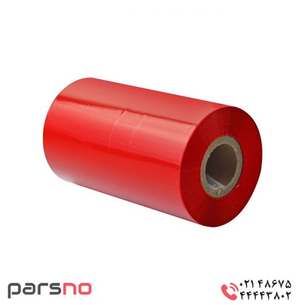 ریبون رزین قرمز ۱۱۰ × ۳۰۰