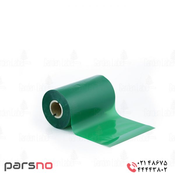 ریبون وکس سبز ۱۱۰ × ۳۰۰