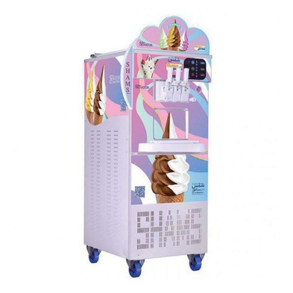 دستگاه بستنی ساز تک فاز سناتور با اینورتور شمس