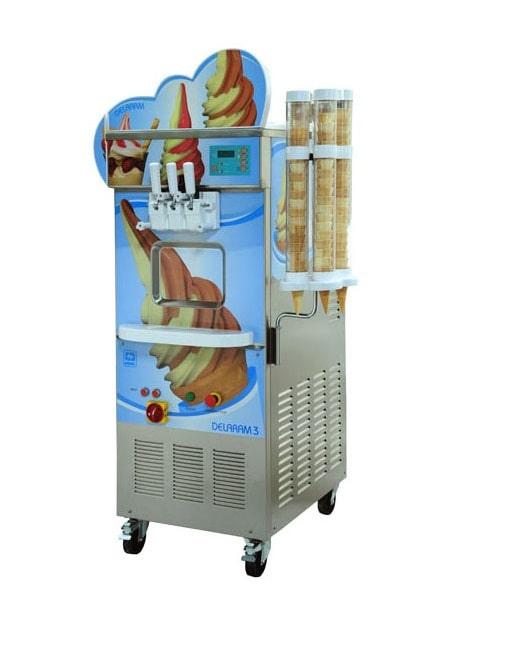 دستگاه بستنی ساز نیکنام سه فاز پمپی DL-3-P