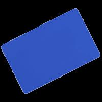 کارت خام pvc ساده آبی