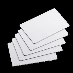کارت خام pvc ساده سفید ۵۰۰ میکرون