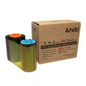 ریبون دستگاه چاپ کارت Hiti CS-2 YMCKO 400 Prints