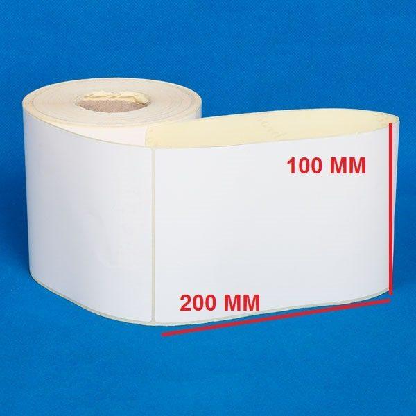 لیبل پی وی سی ۱۰۰ × ۲۰۰